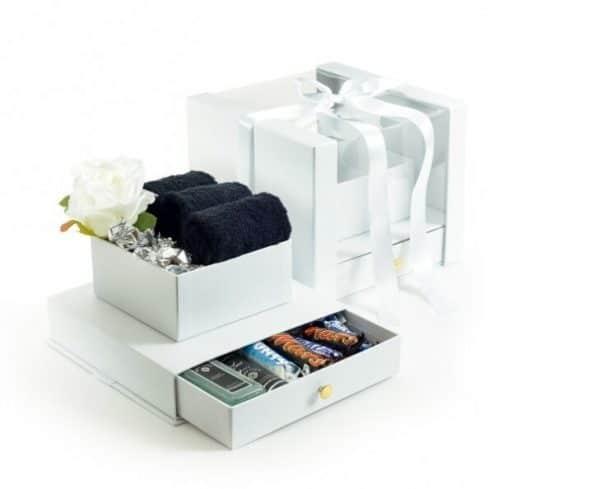 קופסא שי לבנה מהודרת